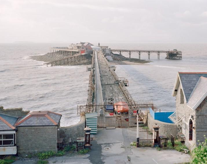 Weston-Super-Mare Birnbeck Pier, Somerset, 2011