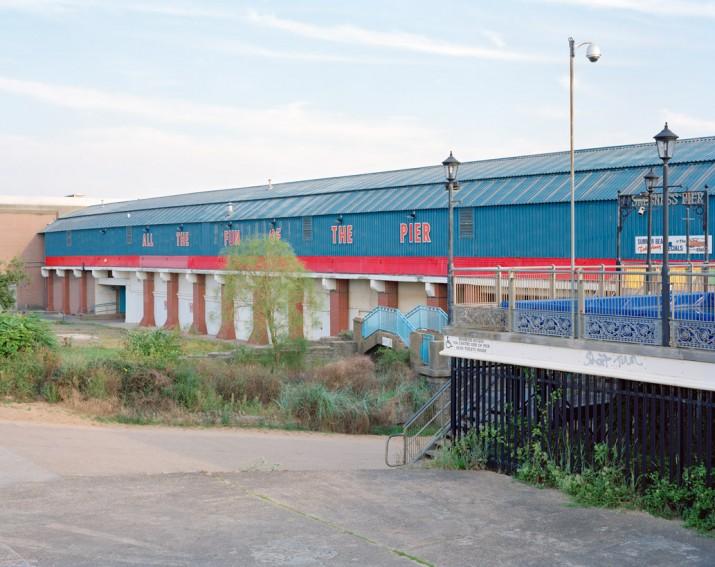 Skegness Pier, Lincolnshire, 2012