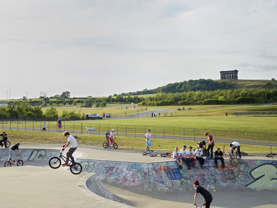 Penshaw Skate Park, Houghton le Spring, 2013