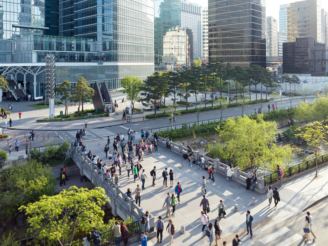 Cheonggyecheon, Seoul, South Korea, 2015 (opened 2005)