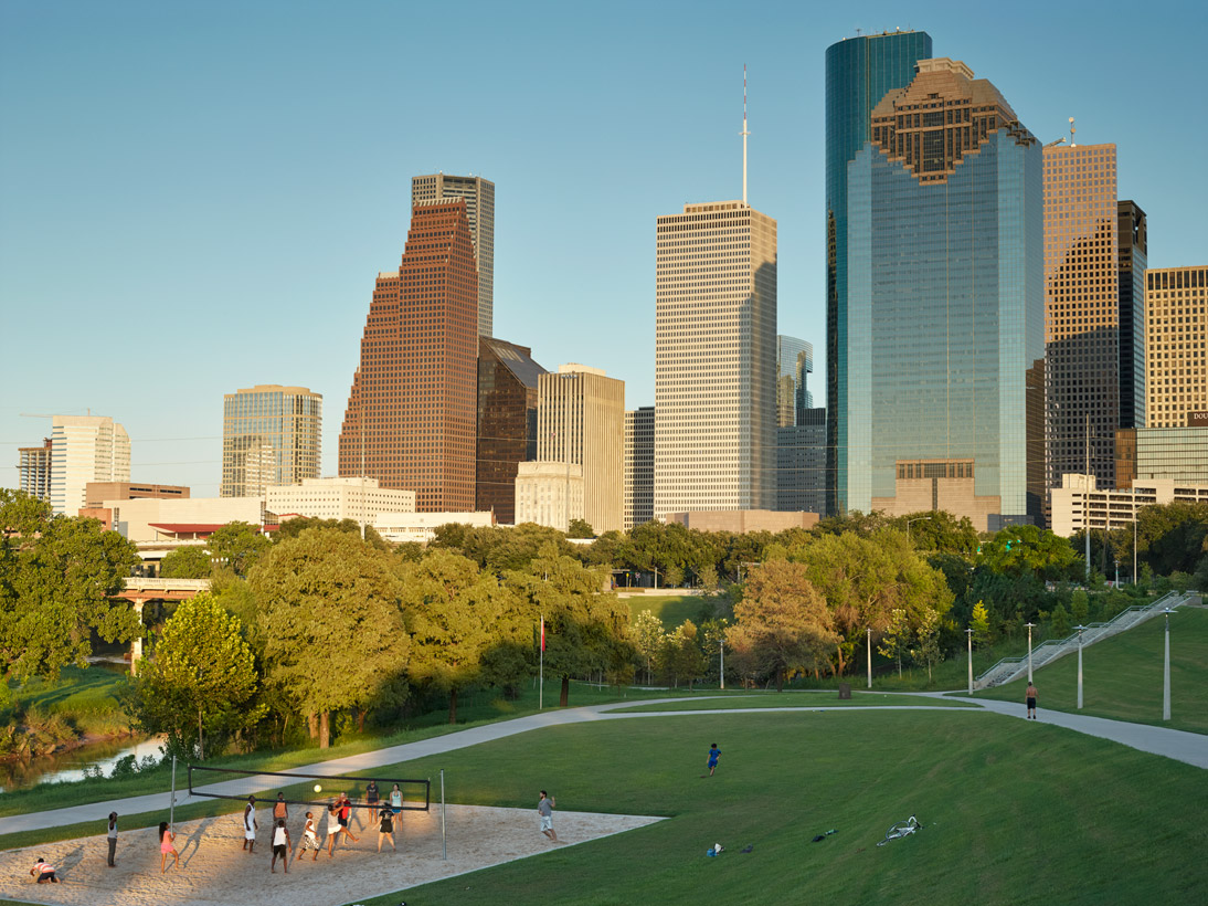 Buffalo Bayou Park, Houston, USA, 2015 (opened 2015)