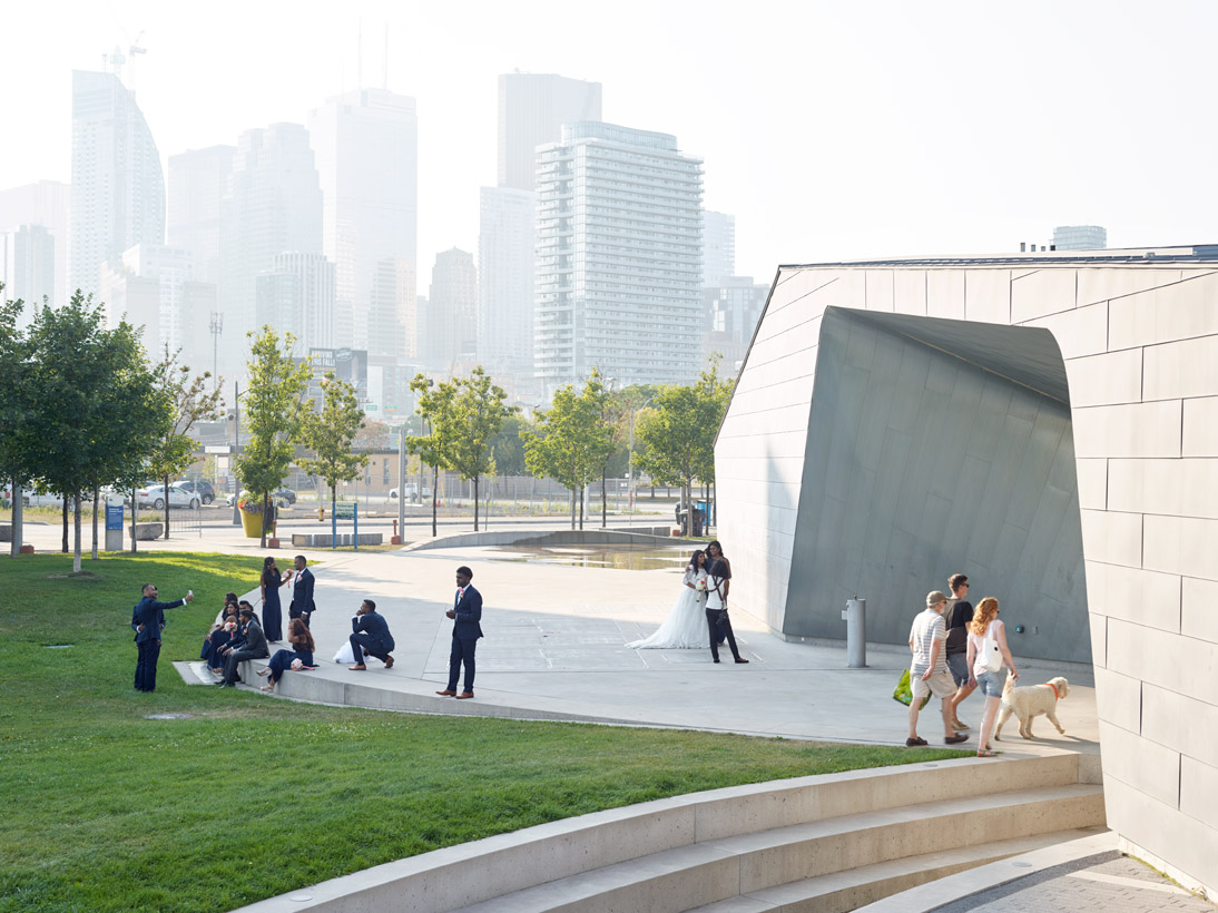 Sherbourne Common, Toronto, Canada, 2015 (opened 2010)