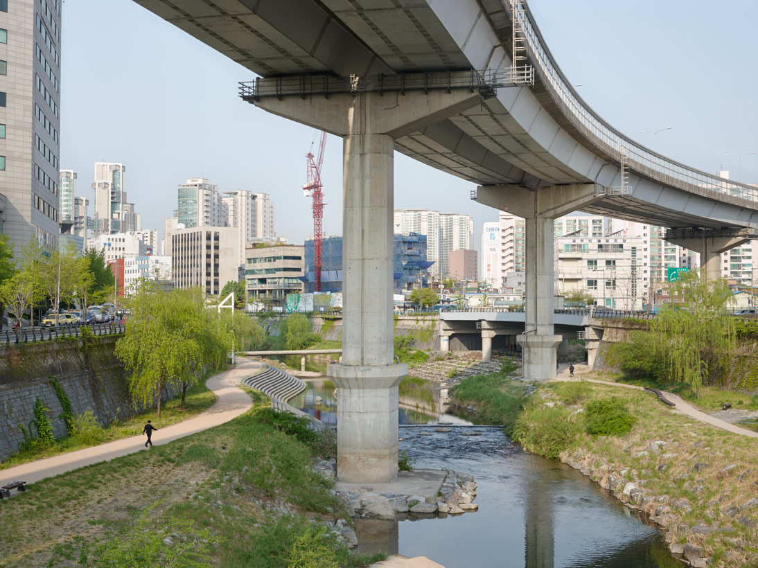 Cheonggyecheon Stream, Seoul, S. Korea, 2015 (opened 2005)