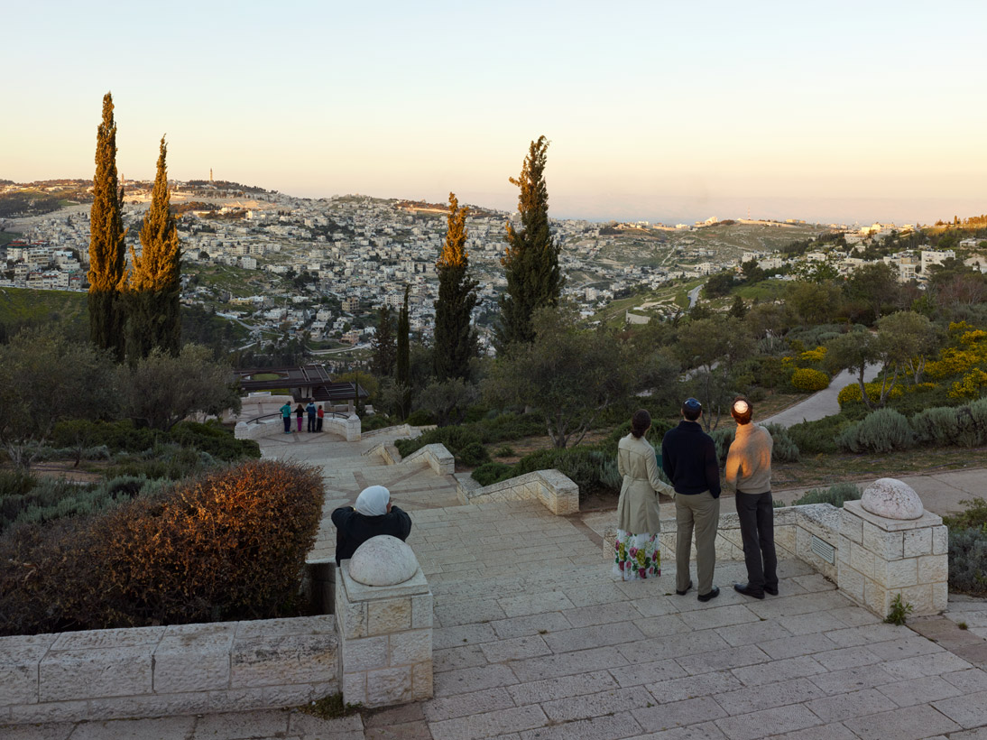 Sherover Promenade, Jerusalem, Israel, 2015 (opened 1987)