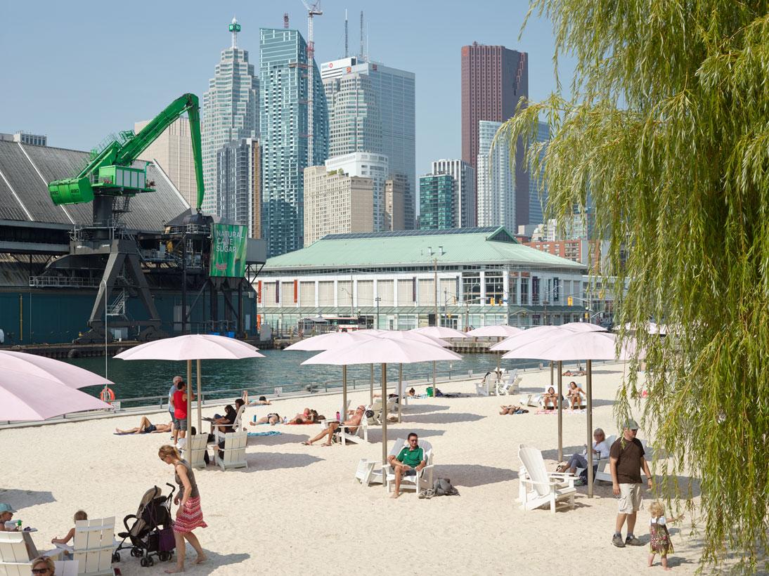 Sugar Beach, Toronto, Canada, 2015 (opened 2010)