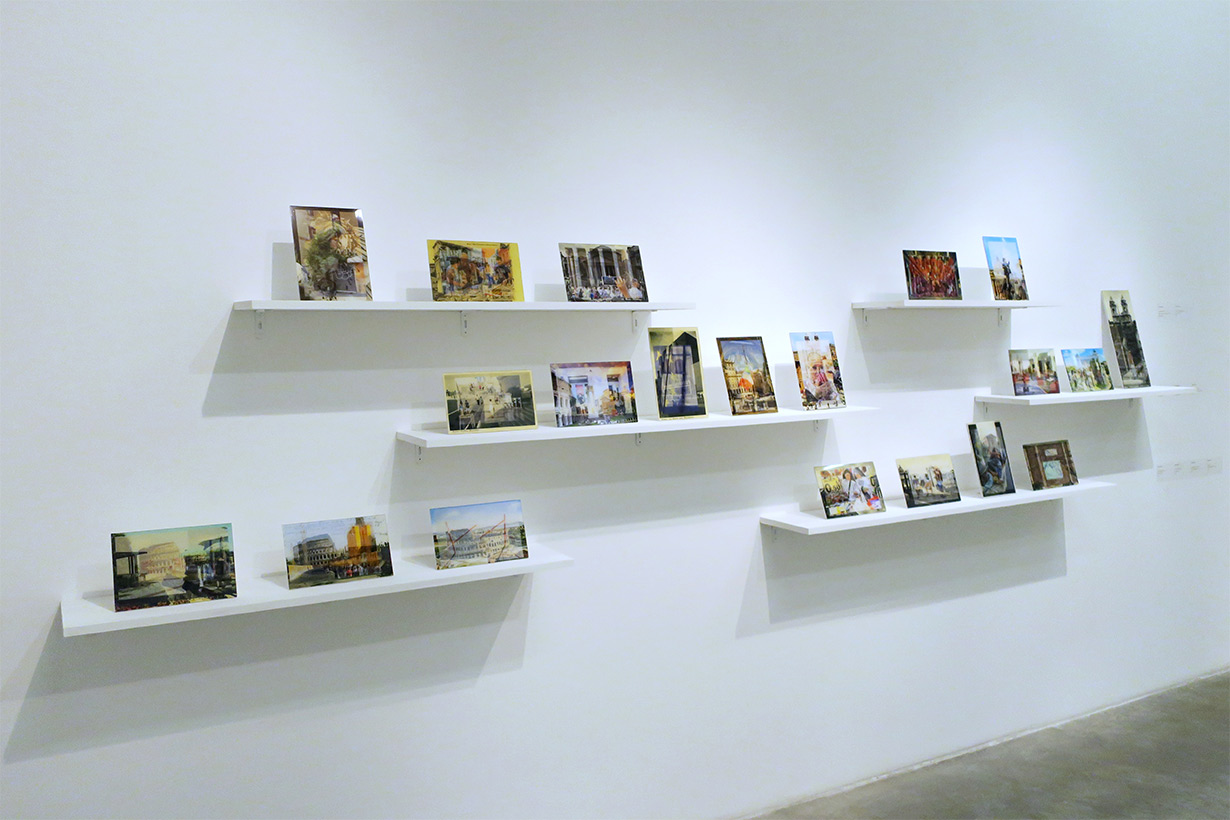 New Vedute - Alternative Postcards from Rome, Installation at Museum of Contemporary Art of Rome, October - December 2016
