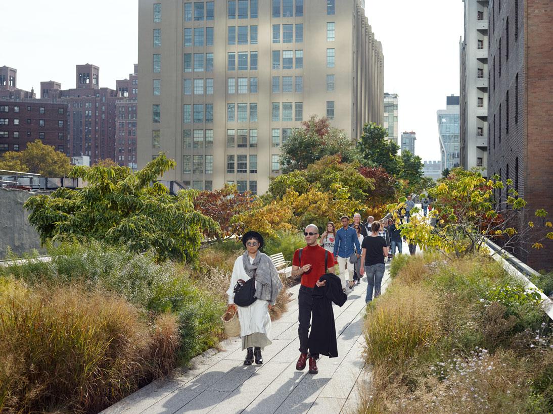 The High Line, New York, USA, 2016 (opened 2009)