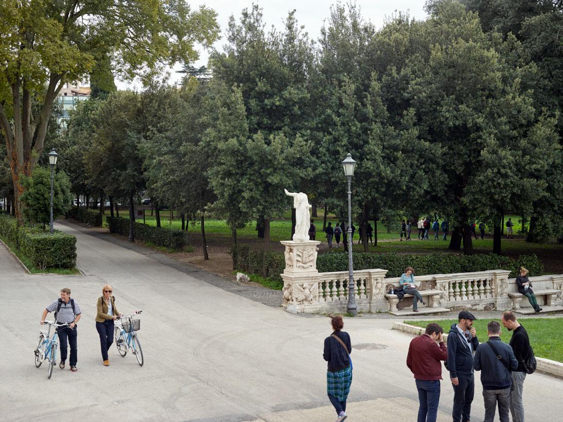 Villa Borghese gardens, Rome, Italy, 2016 (opened 1903)