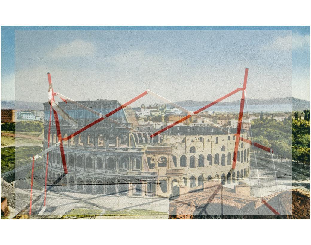 """""""Shock!"""", Anfiteatro Flavio o Colosseo, 1972"""