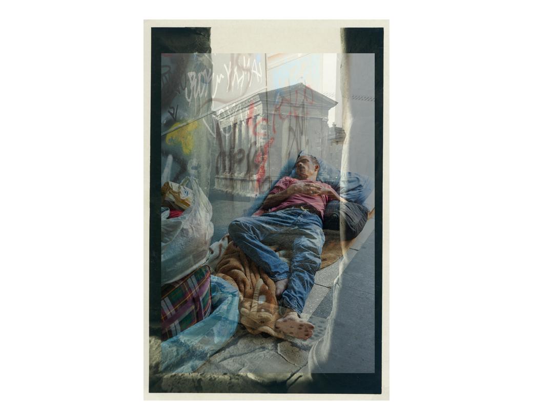 """""""I'm having a mini-holiday"""", Tempio della Fortuna Virile, 2008"""