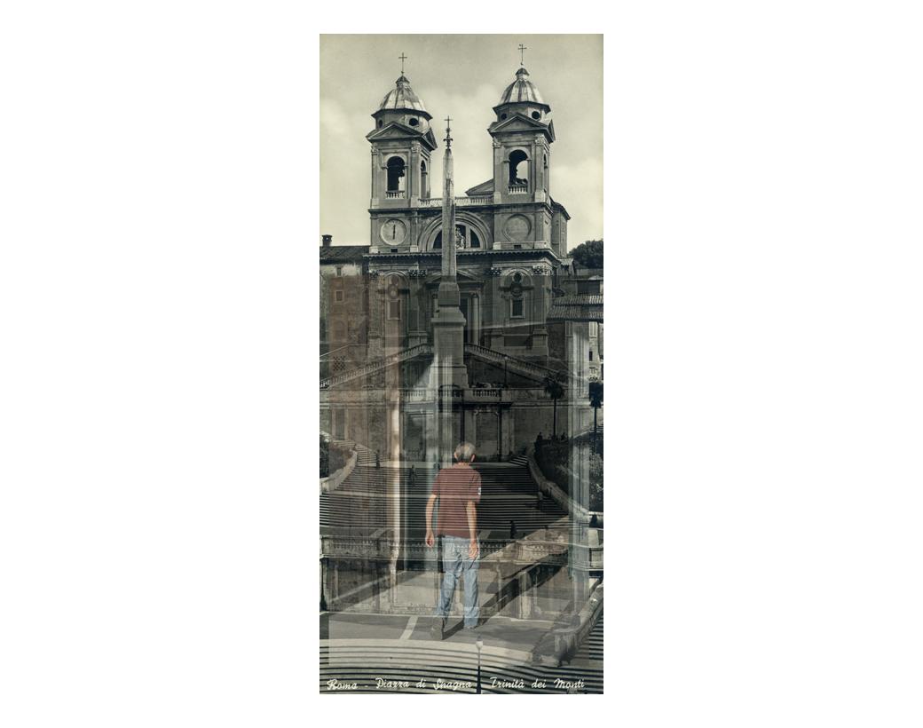 """""""See you soon, as agreed"""", Piazza di Spagna, Trinità dei Manti, 1956"""
