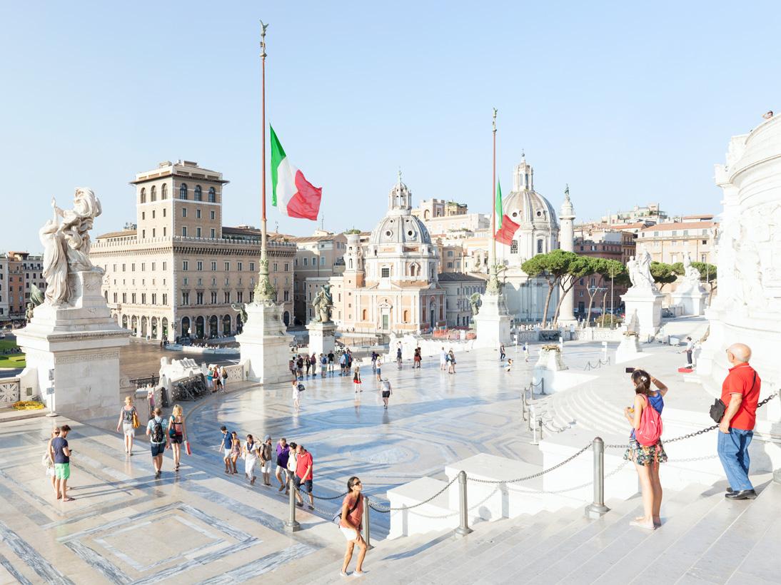 Monumento a Vittorio Emanuele II, Rome, 2016
