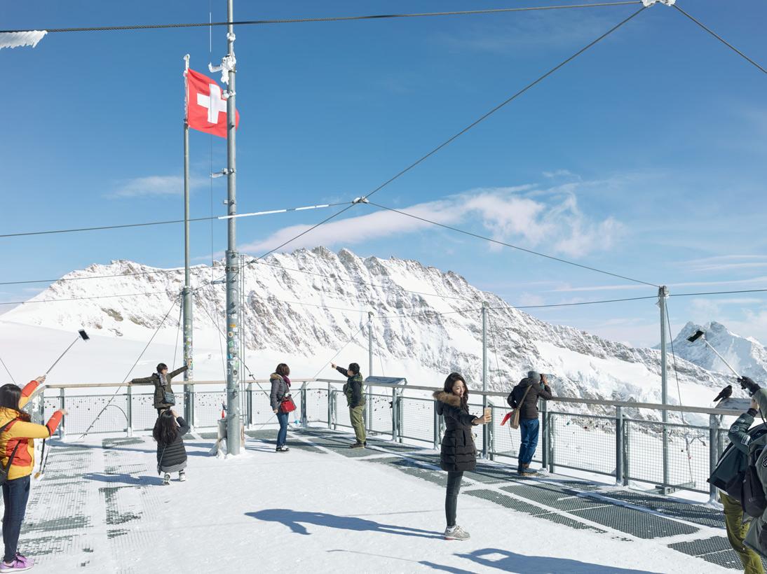 Observation Terrace Sphinx, Jungfraujoch, Switzerland, 2016