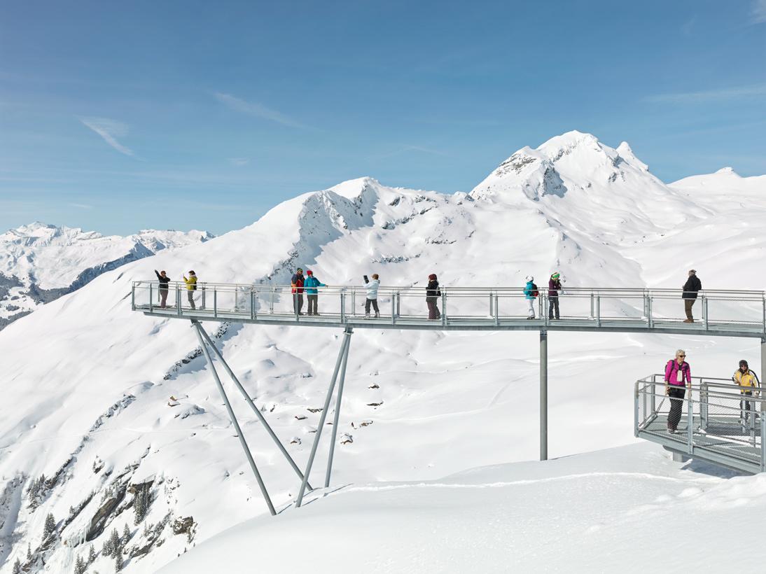 First Cliff Walk, Grindelwald, Switzerland, 2016
