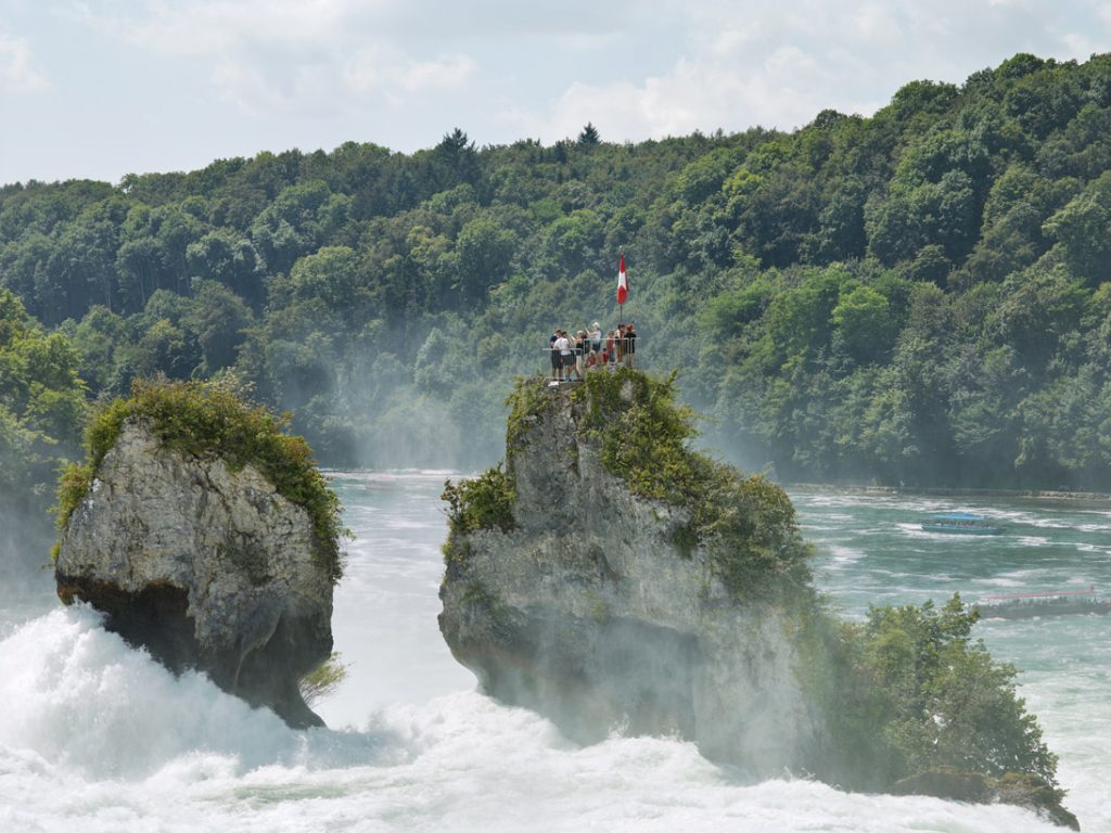 Rhine Falls, Neuhausen, Switzerland, 2016