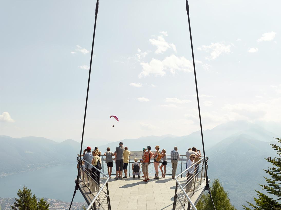Cardada Observation Platform, Locarno, Switzerland, 2016