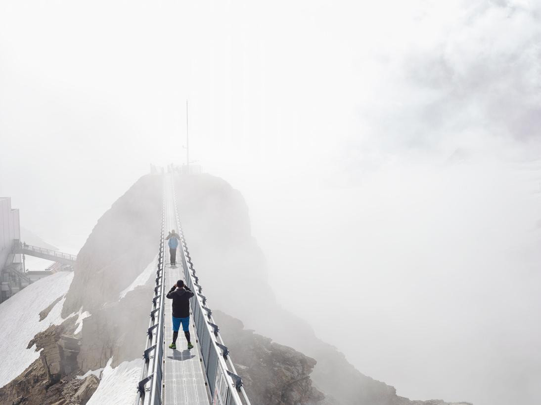 Glacier 3000 Peak Walk #1, Les Diablerets, Switzerland, 2016